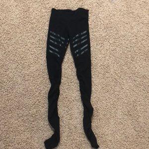 Black alo leggings